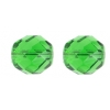 Fire Polished 12mm Green